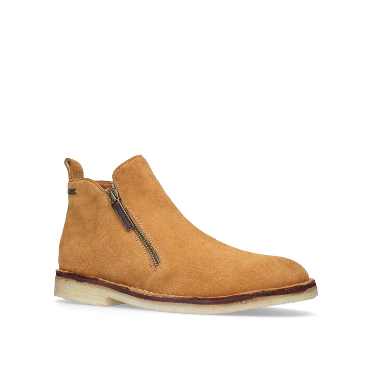 Otis Suede Zip Boots In Tan - Tan Kurt Geiger 8mL5Ye