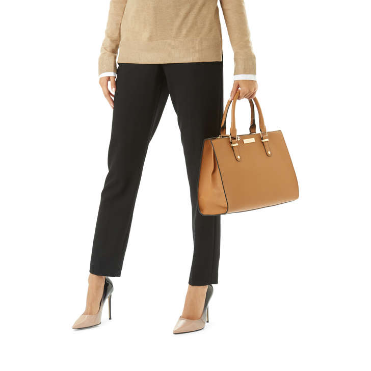RACE STRUCTURED TOTE