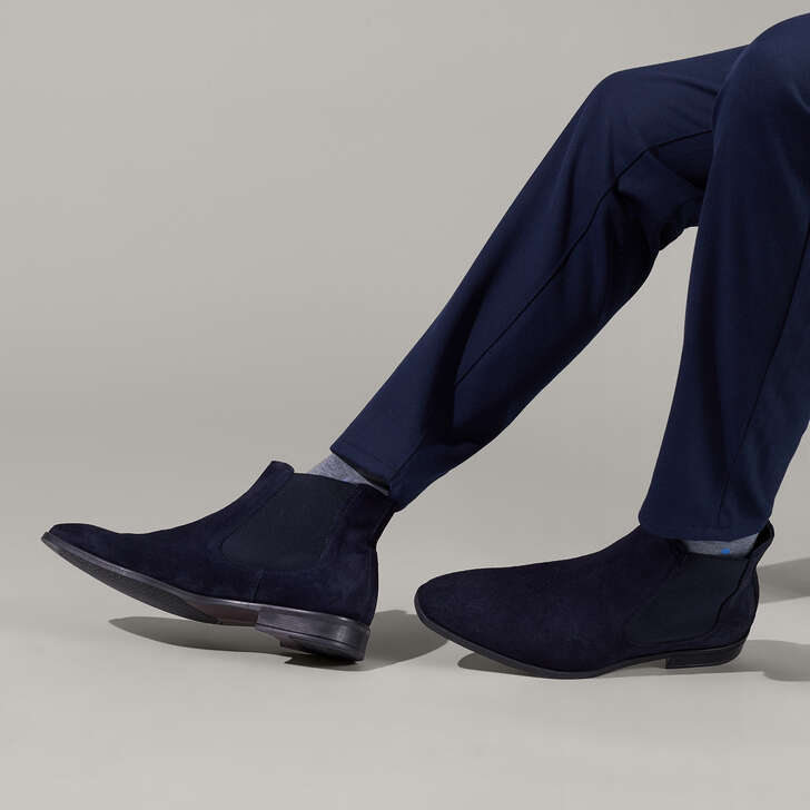 8c626b15ba7 Frederick Navy Chelsea Boots By Kurt Geiger London | Kurt Geiger