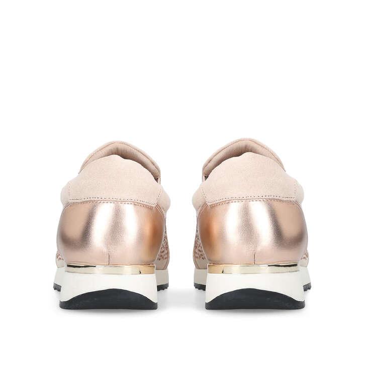 Jazz Blush Embellished Slip On Trainers