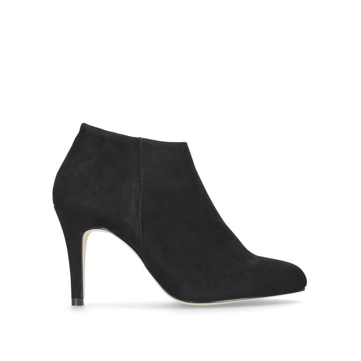 770a6e85d030 Serene. Black Mid Heel Ankle Boots