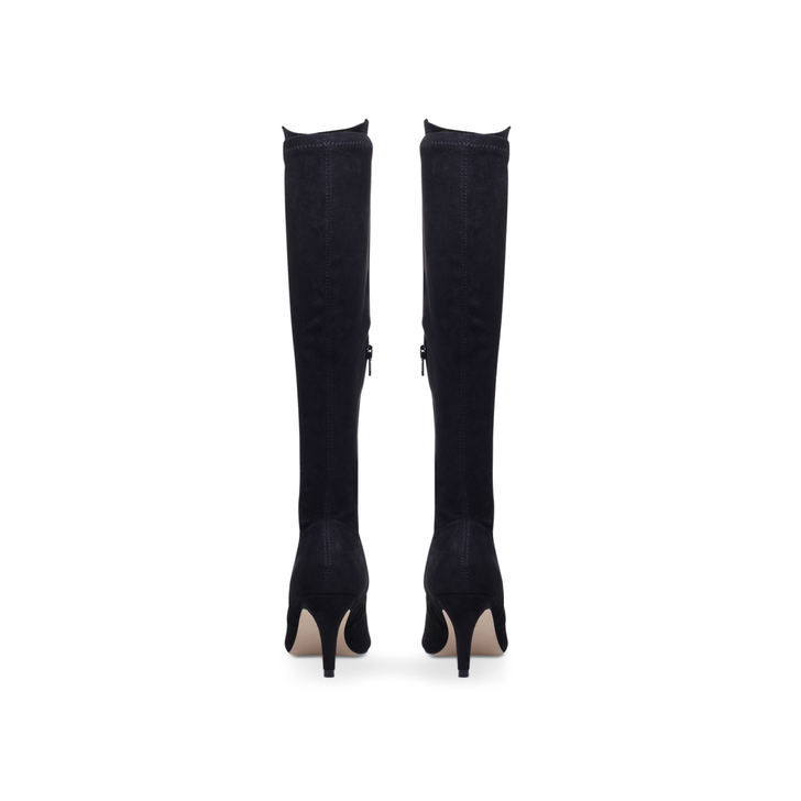Carvela Sprint - black mid heel knee boots Amazon Free Shipping With Credit Card SzrBSV