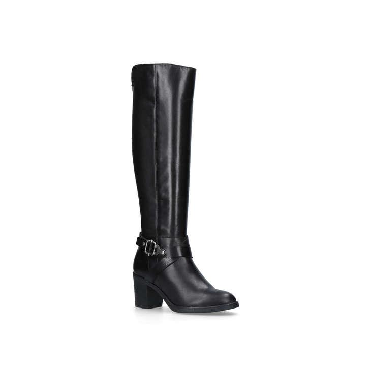 CARVELA Waffle knee-high boots Black - O9162