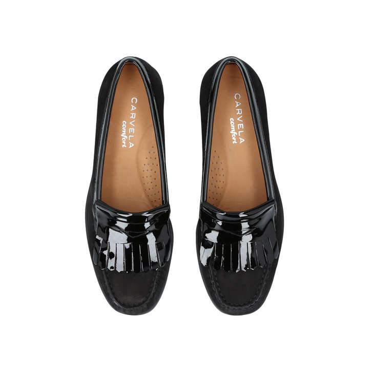 Pay With Paypal Sale Online Free Shipping Best Wholesale Carvela Comfort Claire - black flat loafers Sale Amazing Price For Nice For Sale Very Cheap Price IOe396TPHU