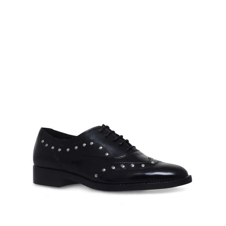 CARVELA Luxury leather shoes Black - E8497