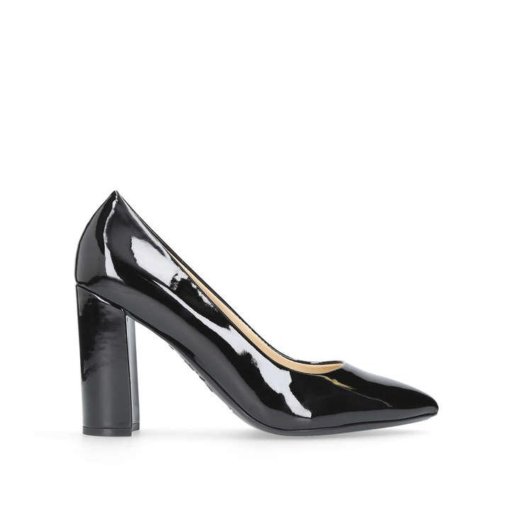 8d57129baee Astoria Black Mid Heel Court Shoes By Nine West