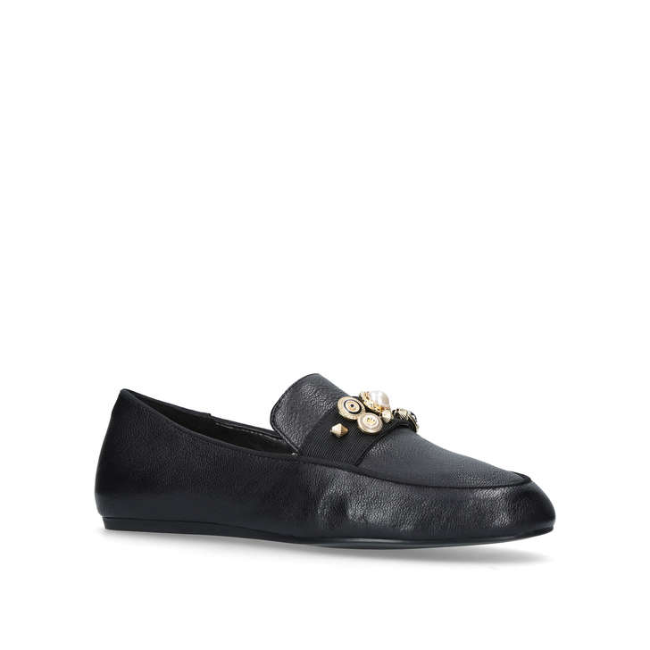 286548c352a Baus Black Flat Loafers By Nine West