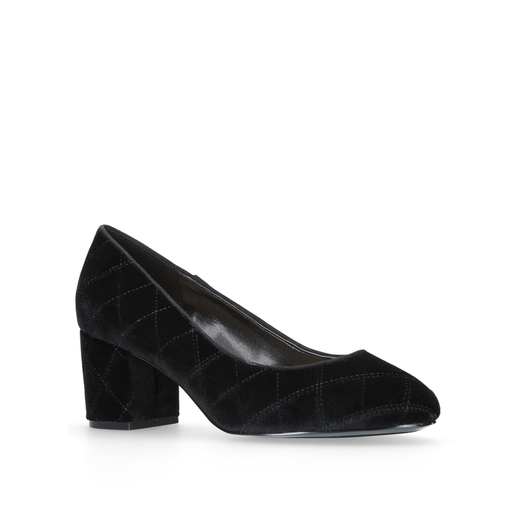 fdca763fad42d Ceciley Black Mid Heel Court Shoes By Nine West