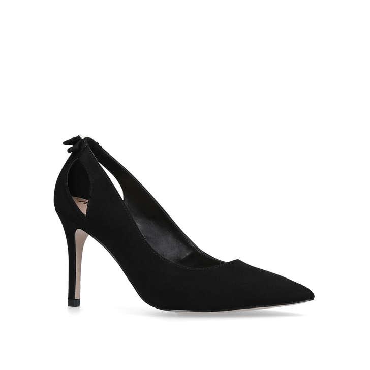 d71f5cb3cc5 Sayde Black Mid Heel Court Shoes By Miss KG