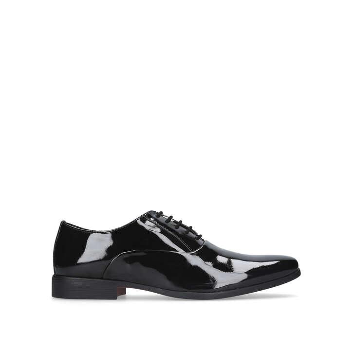 NEATH Black Lace Up Shoes by KG KURT