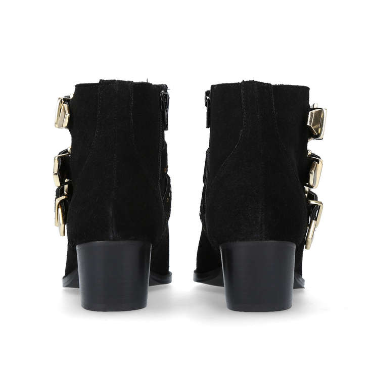 Miss KG Tiger - black mid heel ankle boots With Paypal Free Shipping Countdown Package Cheap Price Best Cheap Price gfdPgZf