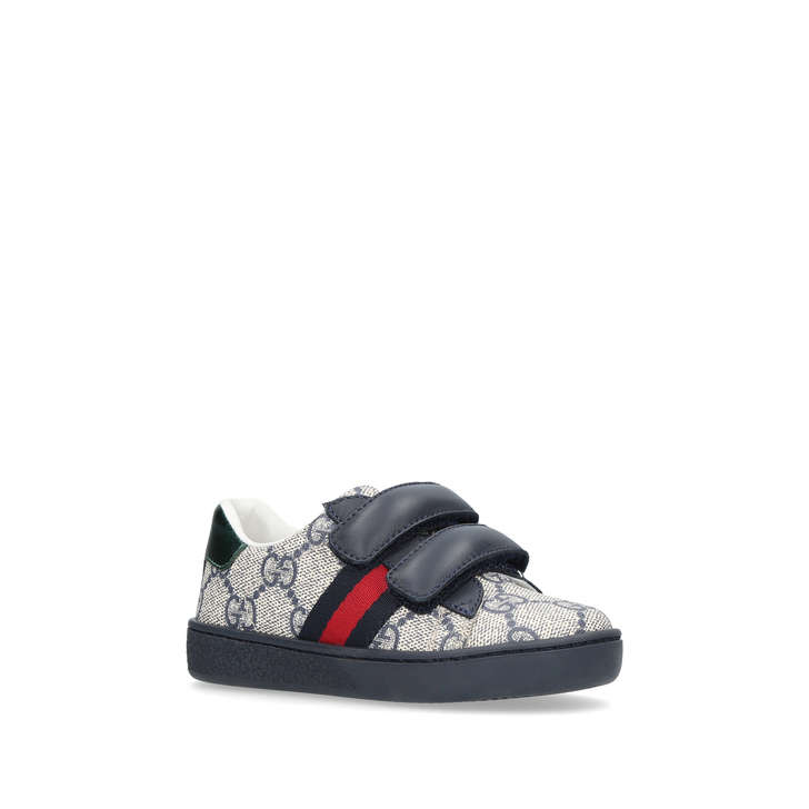 gucci kids shoes. New Ace Vl Boys Navy Riptape Trainers From Gucci Kids Shoes O