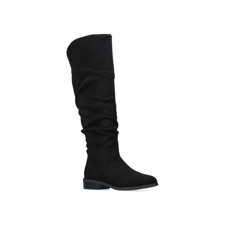 Outlet High Quality Factory Outlet Miss KG Willa - black flat knee high boots With Mastercard Cheap Online utQTWHFTo
