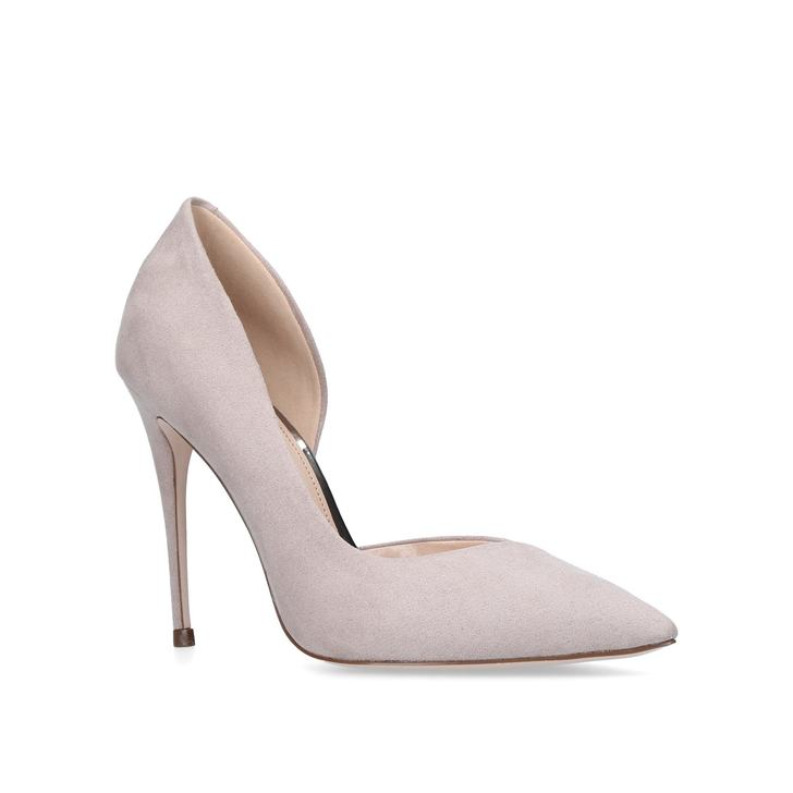 Alexandra. Grey High Heel Court Shoes