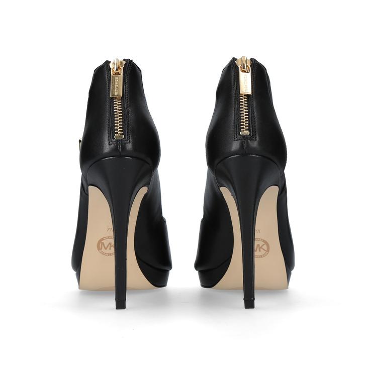 dc5b4d10d59e Kimber Platform Black Mid Heel Sandals By Michael Michael Kors ...