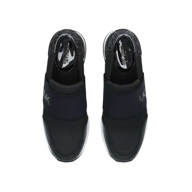 bca153ac3b38f Felix Trainer Black Slip On Trainers By Michael Michael Kors