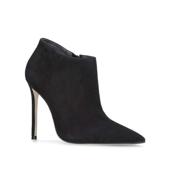 Sandy Black High Heel Ankle Boots from Carvela