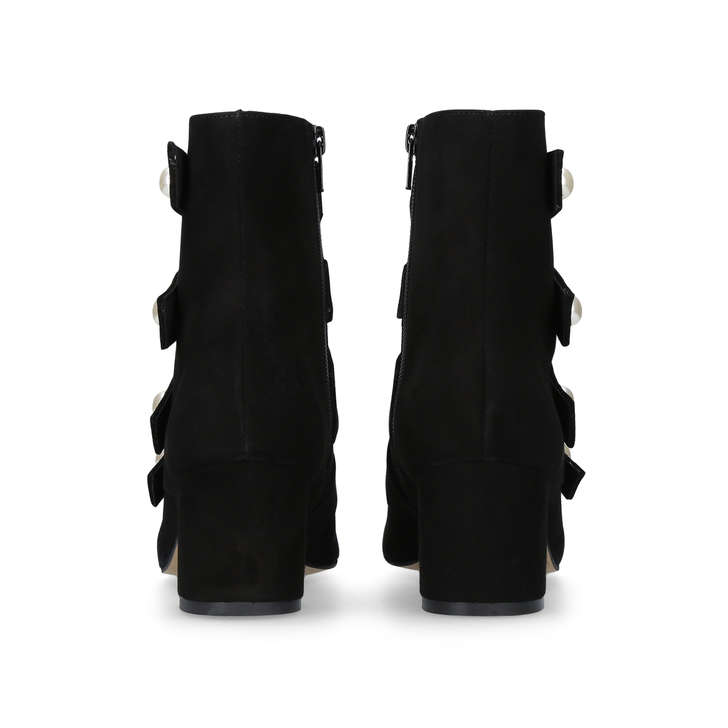 Excellent Carvela Spandau - black mid heel calf boots Pick A Best For Sale Low Price Fee Shipping Big Discount For Sale oisu0Fzi