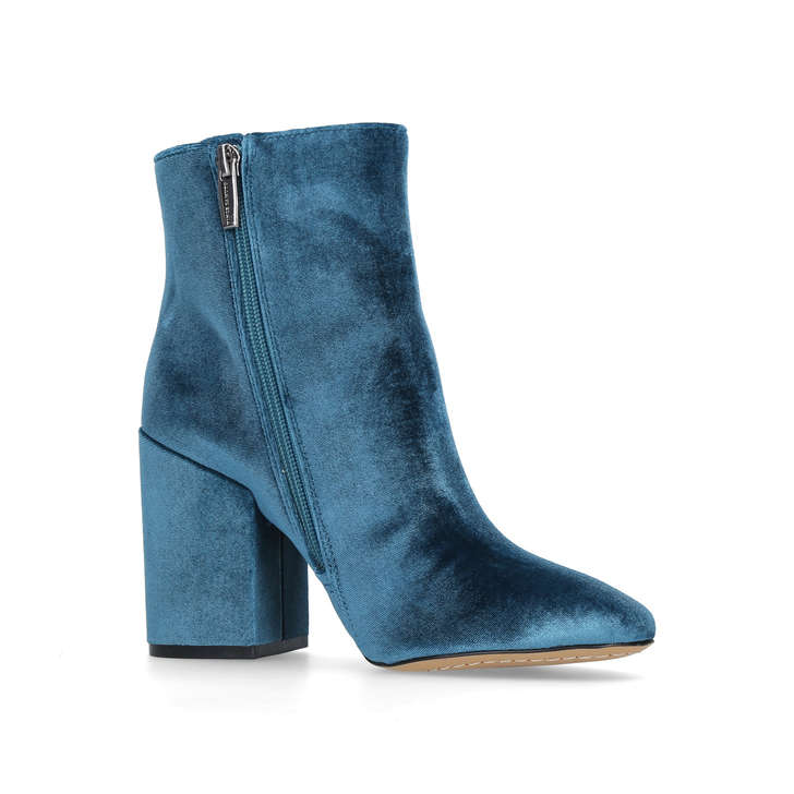 3f13a2ae0dd9 Destilly Teal High Heel Ankle Boots By Vince Camuto