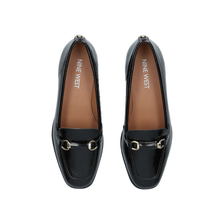 9056db6f2c9 Holly Black Low Heel Loafers By Nine West