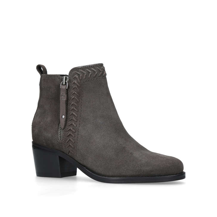 new photos recognized brands look for Natalie Grey Low Heel Ankle Boots By Nine West | Kurt Geiger