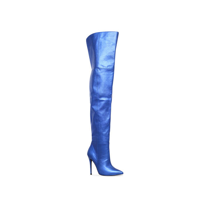 Kurt Geiger Vita - blue high heel over the knee boots Countdown Package Cheap Online jrloZrC