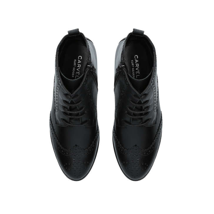 Carvela Toby - black flat lace up boots Buy Cheap Shop Where To Buy Cheap Real Clearance Big Sale Cool Shopping VgBsr