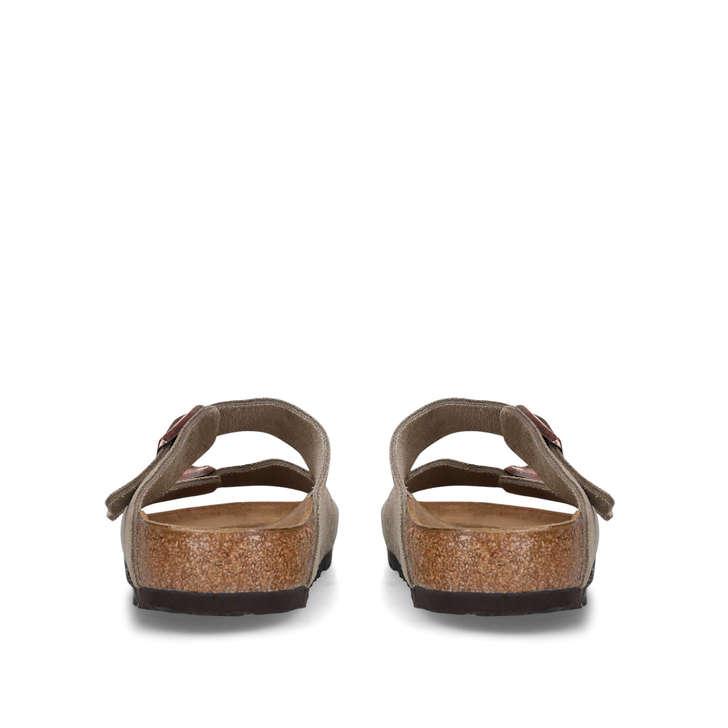 arizona nbk taupe flat sandals by birkenstock kurt geiger. Black Bedroom Furniture Sets. Home Design Ideas