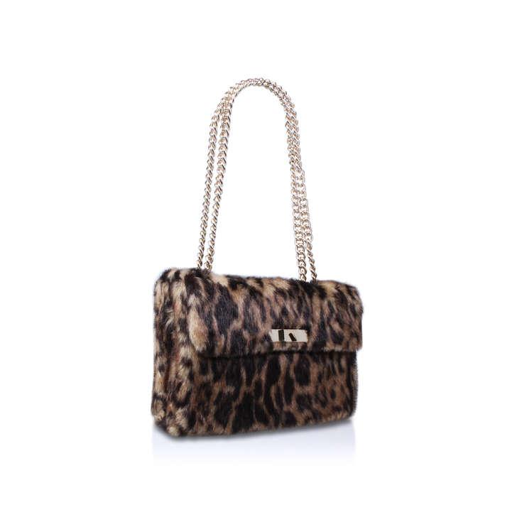 large kensington bag brown shoulder bag by kurt geiger