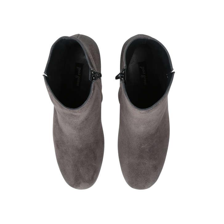 f306689c62 Sara Ank Bt Grey Mid Heel Ankle Boots By Paul Green   Kurt Geiger