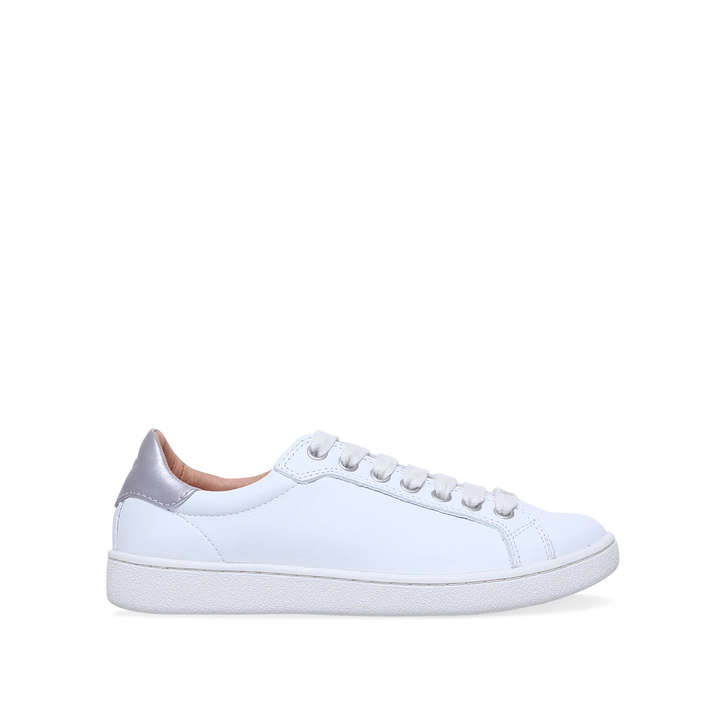 d966c13fb87 Milo White Low Top Trainers By UGG | Kurt Geiger