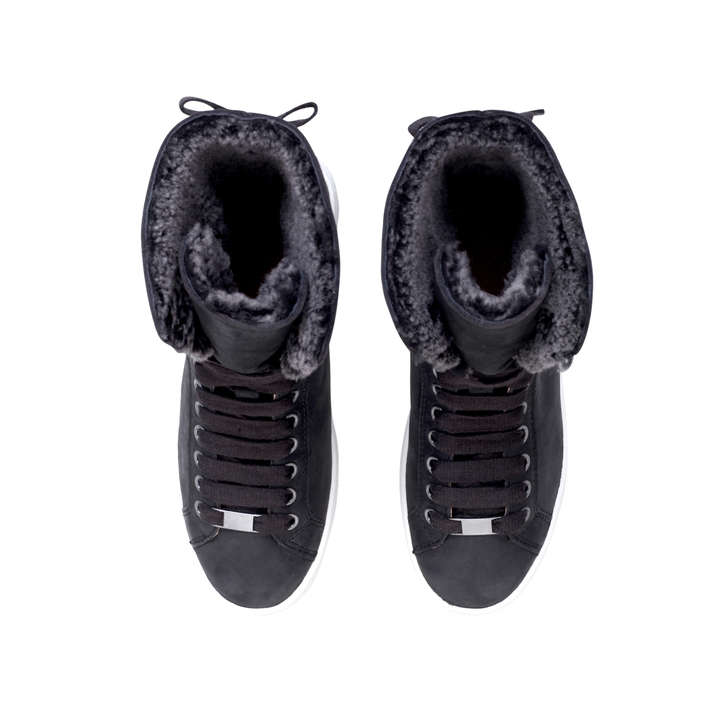 4d12872ca5c0a9 Starlyn Black High Top Trainers By UGG