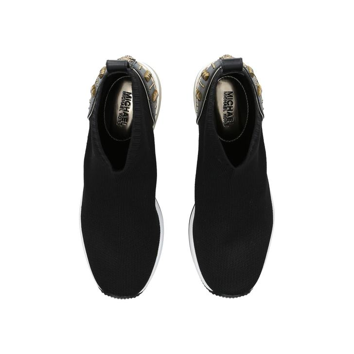 dd5682fce94f Skyler Bootie Black High Top Sock Trainers By Michael Michael Kors ...