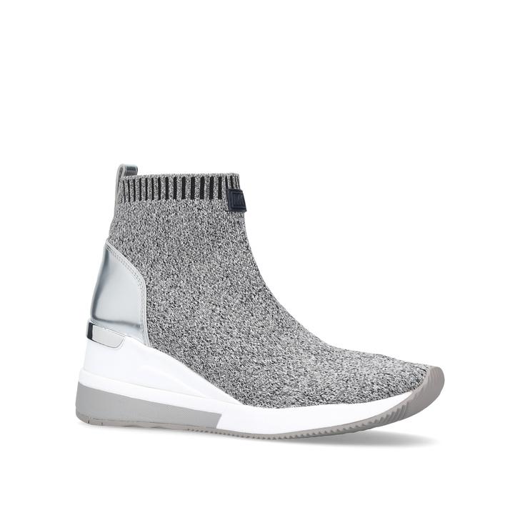 Skyler Bootie Grey Sock Trainers By