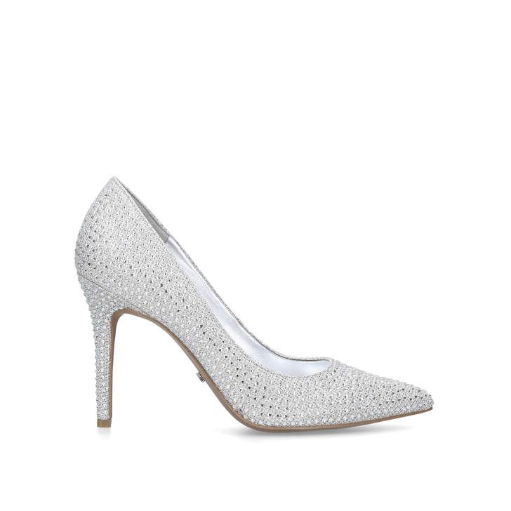 Claire Pump Silver Glitter Stiletto