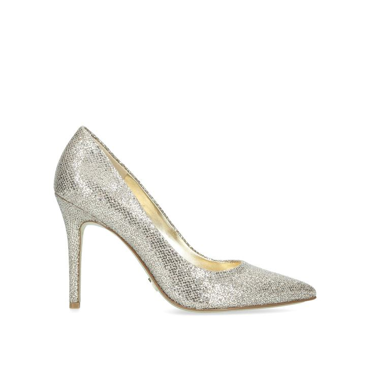 bef689d16b1 Claire Pump Metallic Silver Court Shoes By Michael Michael Kors ...