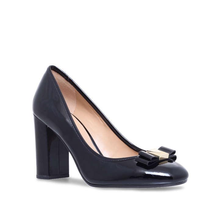 31490efc5e9d Caroline Pump Black Mid Heel Court Shoes By Michael Michael Kors ...