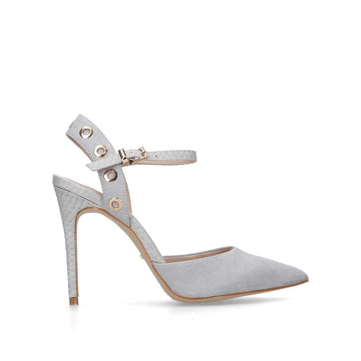 c913fa8f1abd Aron. Grey High Heel Court Shoes