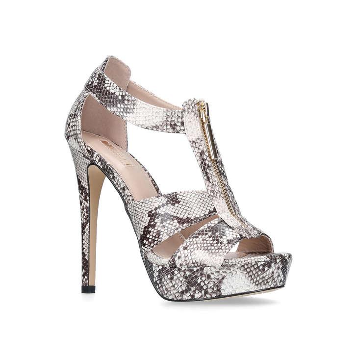 6e466d7e409 Girly Grey High Heel Sandals By Carvela