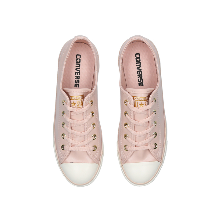 59306cee0f2 Ct All Star Dainty Ox Pale Pink Low Top Trainers By Converse