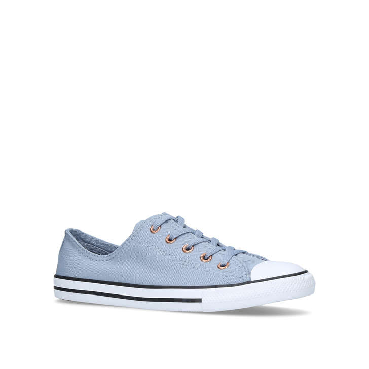 66140333a5ba Ct All Star Dainty Ox Blue Low Top Sneakers By Converse