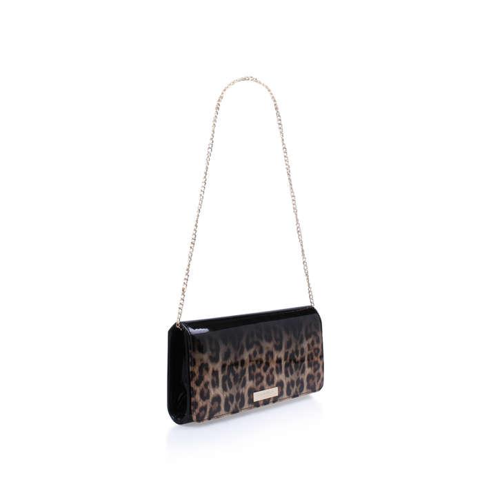 Alice Black Clutch Bag By Carvela