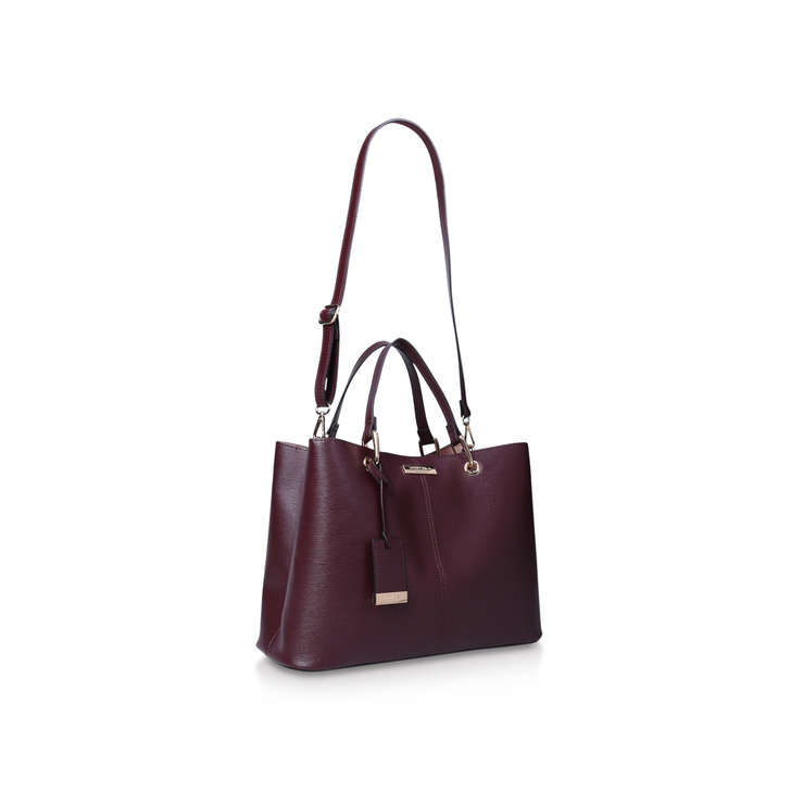 5ce09135385d Samantha Slouch Tote Wine Tote Bag By Carvela