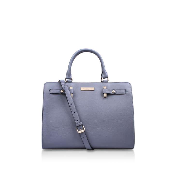 Simone Large Tote. Grey Tote Bag