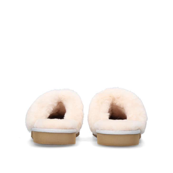 Cozy Heart Grey Flat Slippers By Ugg Kurt Geiger