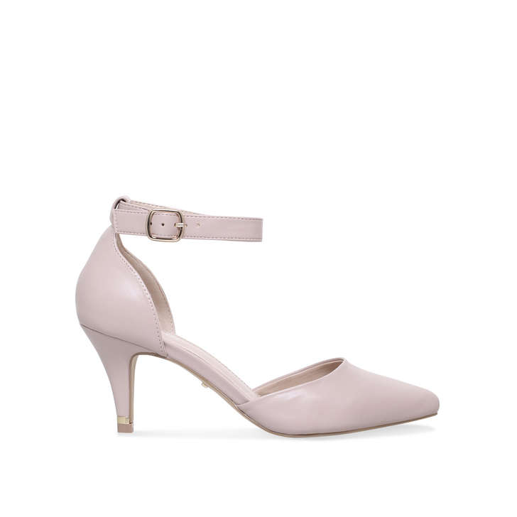 9752806ccd7 Kixx Nude Mid Heel Court Shoes By Carvela