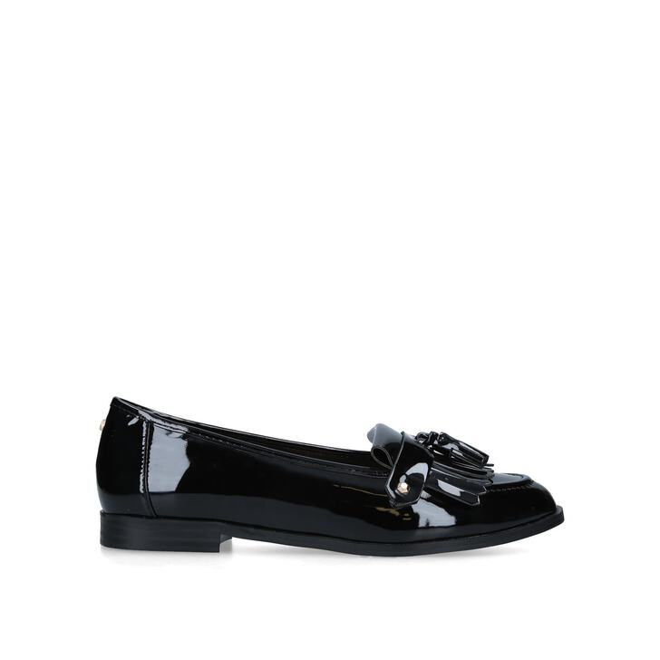 4dbd6c16135 MAGPIE Black Flat Loafers by CARVELA