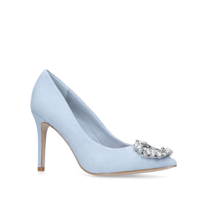 16bd5ebfccc1 Sally Blue High Heel Court Shoes By Miss KG