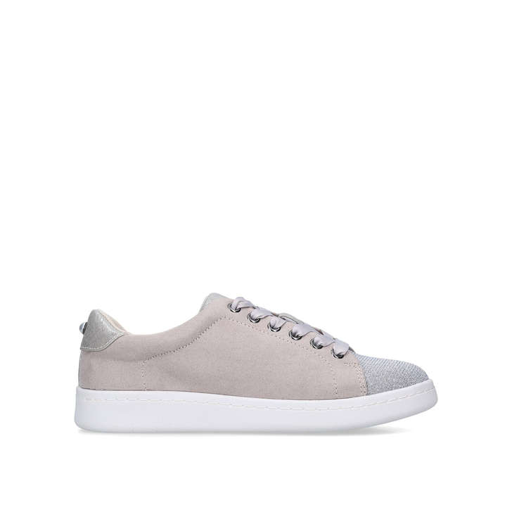 KORI Grey Lace Up Trainers by MISS KG