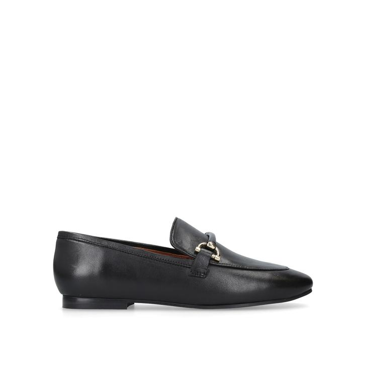 2bc3216a49f Karima. Black Flat Loafers